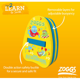 Zoggs Back Float Yellow/Blue